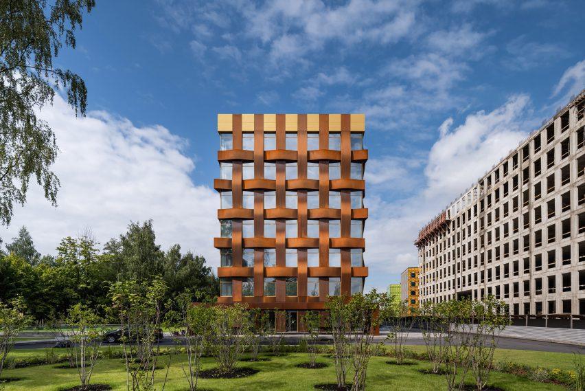 Торцевая стена Ferrum 1 от Tchoban Voss Architekten