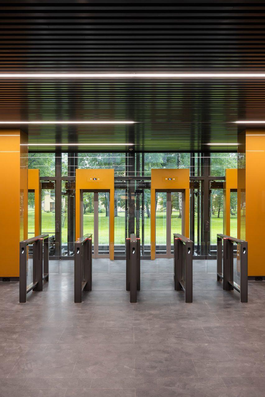 Вестибюль Ferrum 1 от Tchoban Voss Architekten