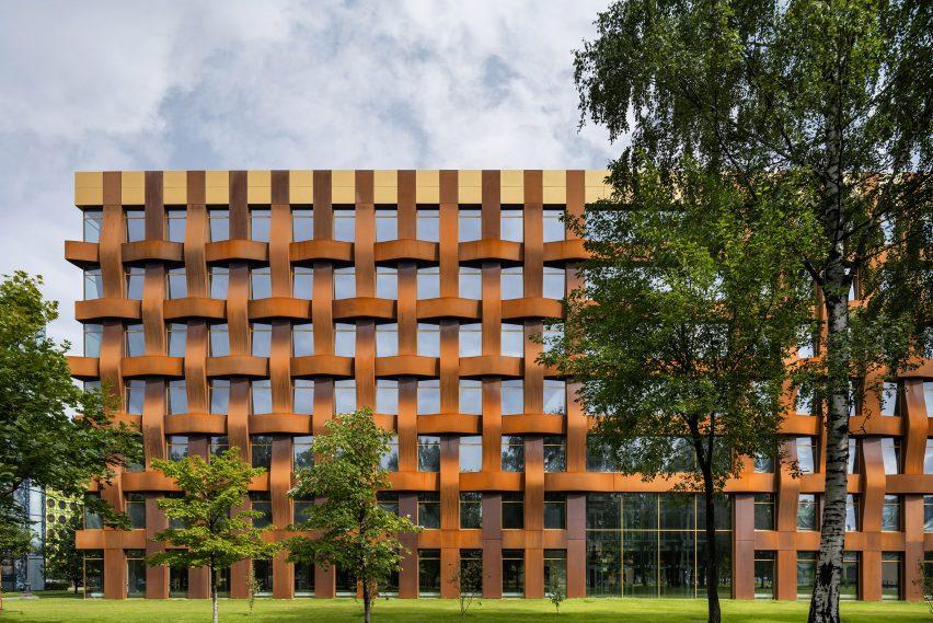 Фасад Ferrum 1 из кортеновской стали от Tchoban Voss Architekten