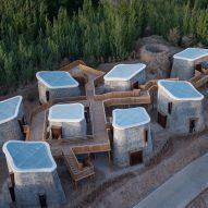 Studio Avoid designs Grotto Retreat Xiyaotou to evoke ancient cave dwellings