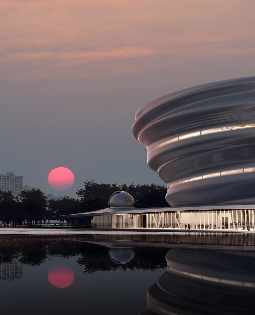 A visual of Hainan Science and Technology Museum