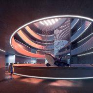 A museum atrium