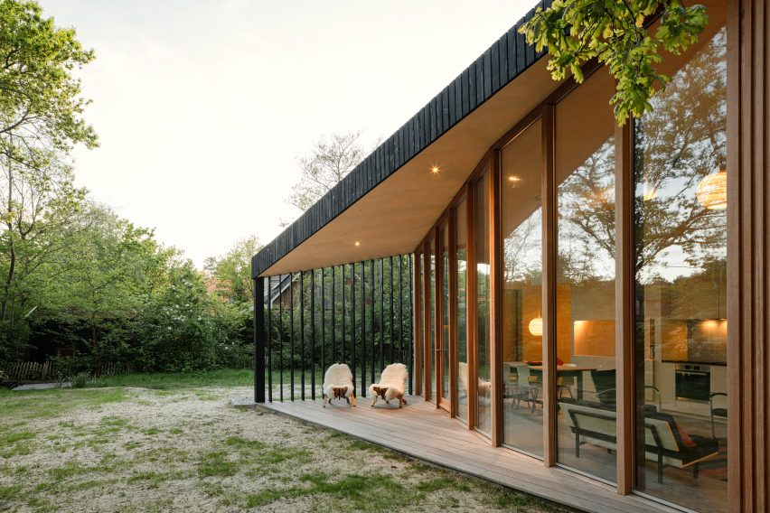 Holiday Home located in a forest