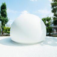 Kazoo Sato designs hemispherical public toilet for Tokyo