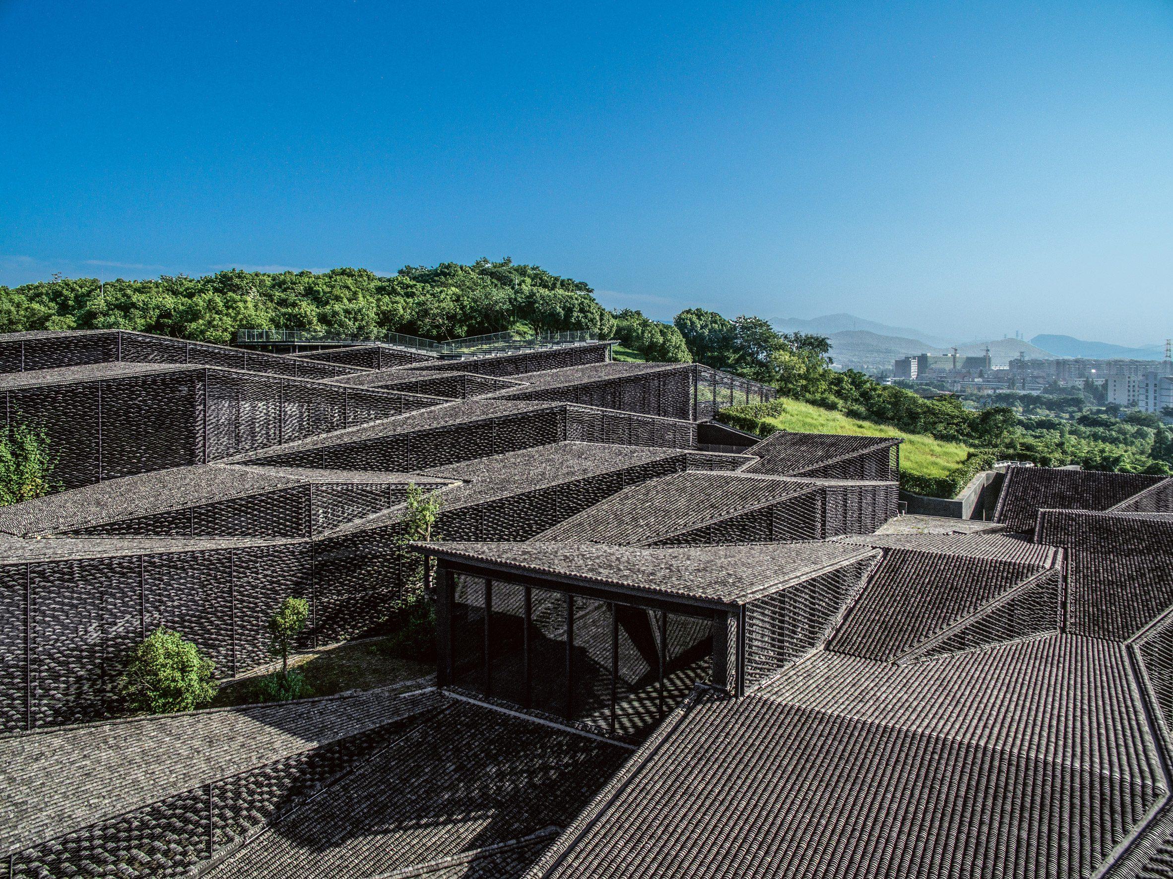 The concrete Folk Art Museum China