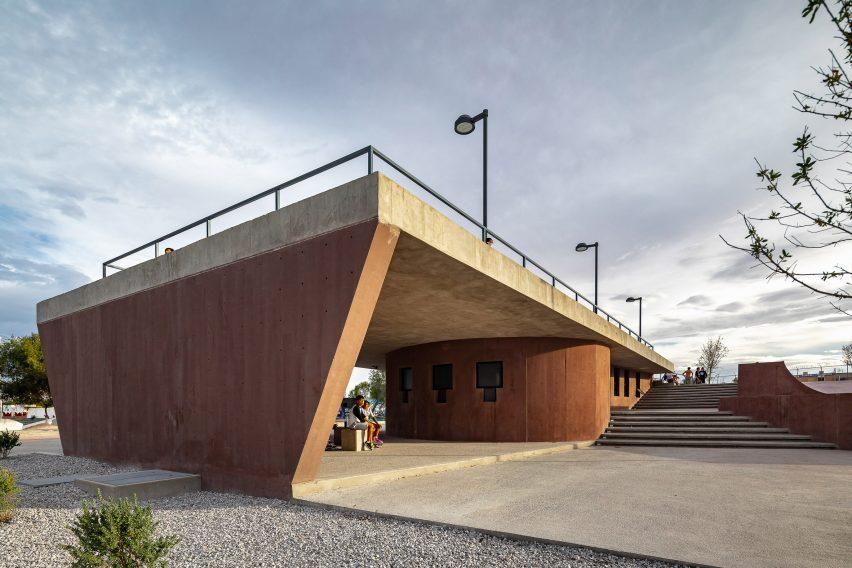 View of La Duna skatepark