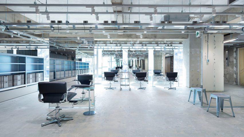 LIM hair salon by Schemata Architects
