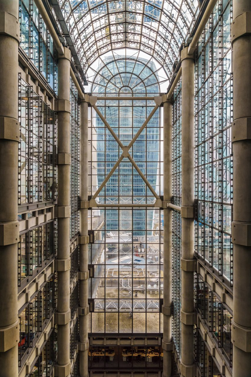 The Underwriting Room in the Lloyd's building