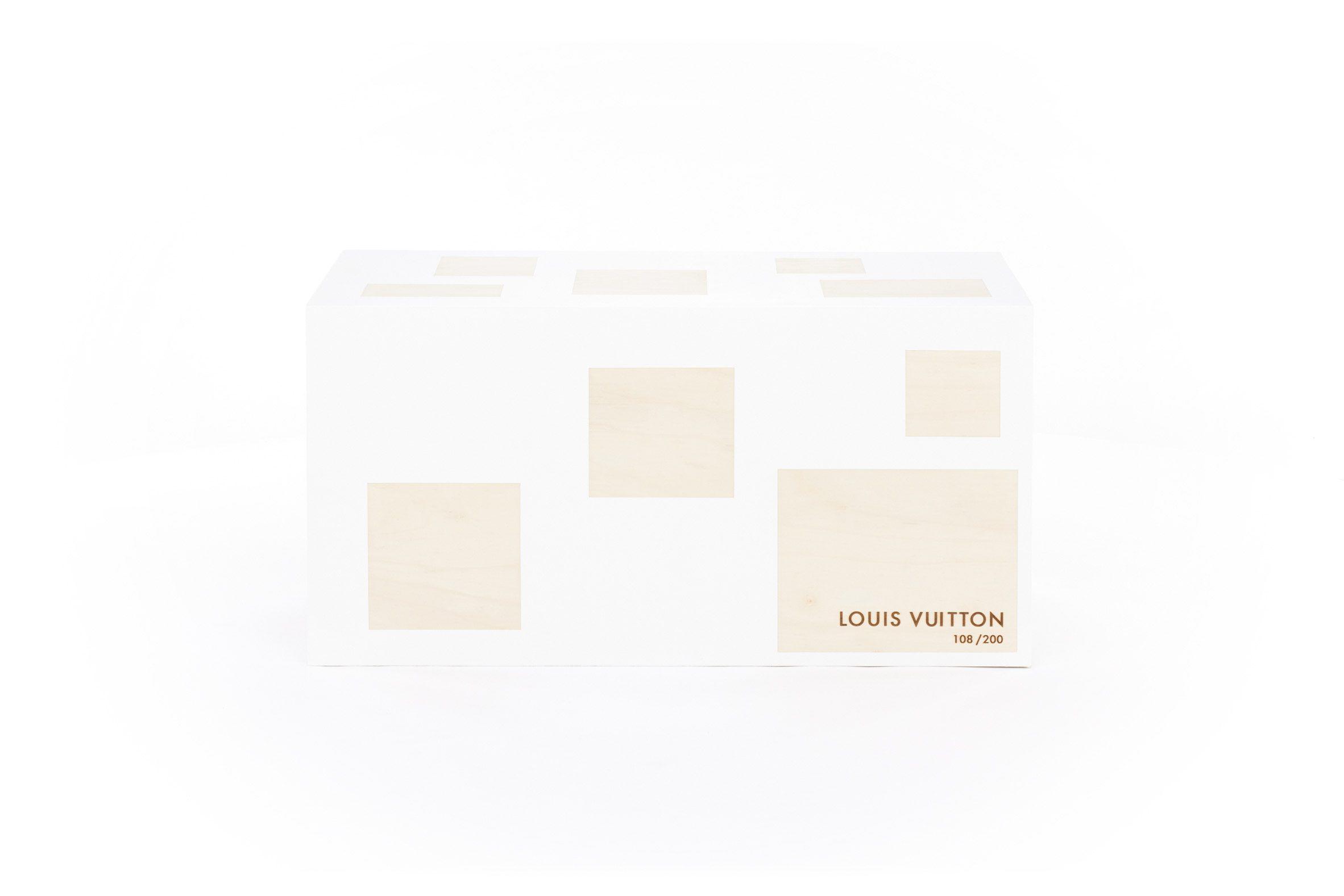 Sou Fujimoto's white trunk design for Louis Vuitton