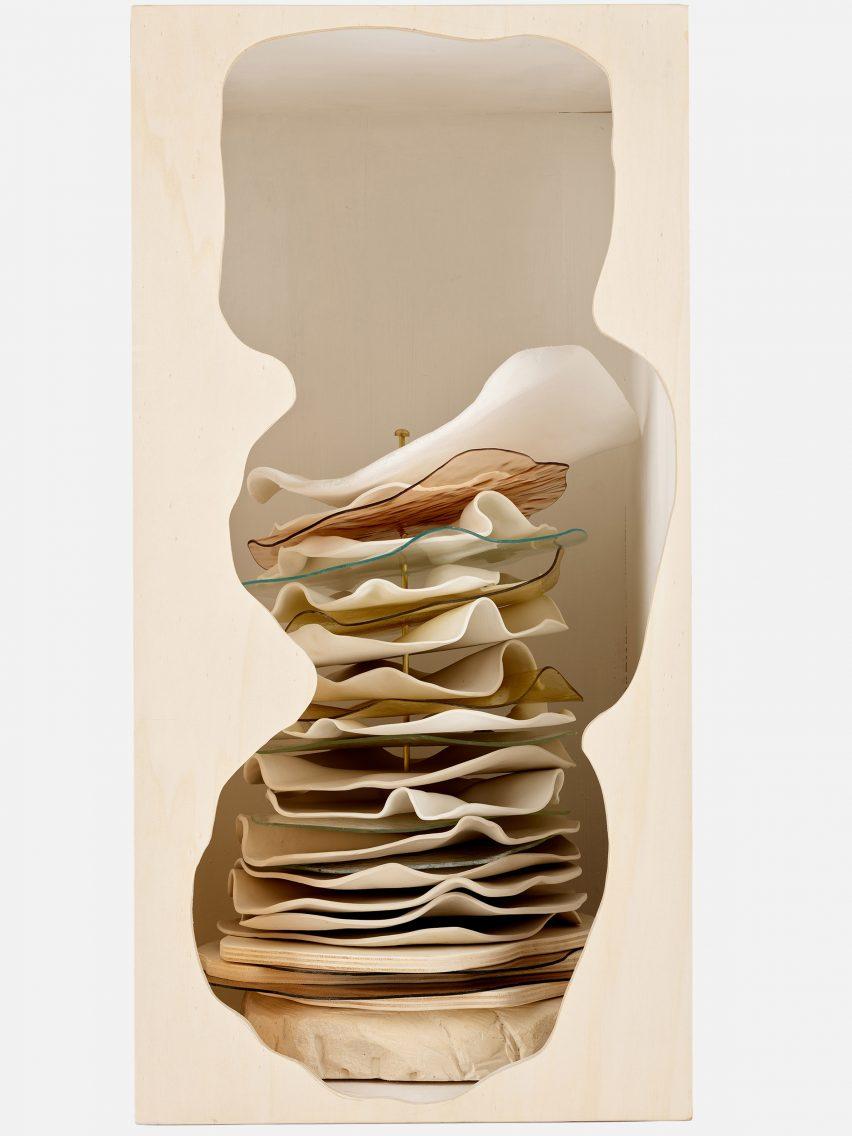 Amande Haeghen's Louis Vuitton trunk