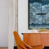 Armchair in Louveira Apartment by Ana Sawaia