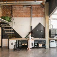 CumuloLimbo inserts plywood-clad loft within UpHouse in Madrid