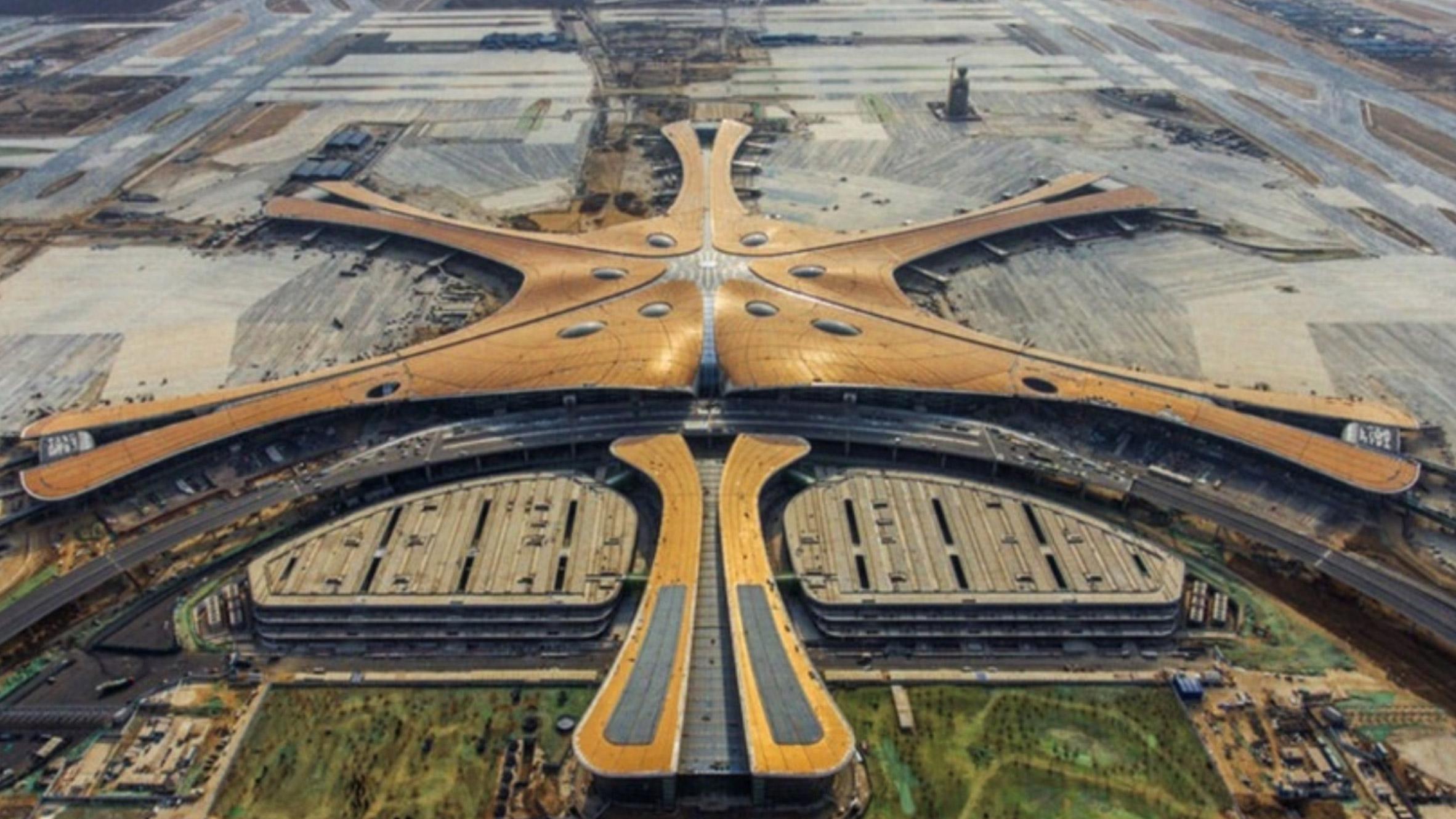 Beijing New Airport Terminal, Beijing, China