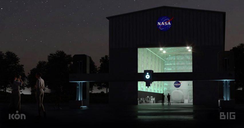A visual of a NASA research centre