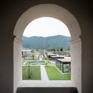 NOA transforms 17th-century monastery near Lake Garda into hotel and spa