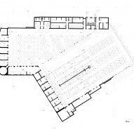 Ground floor plan of the market