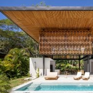 Studio Saxe's Naia houses open up to the Costa Rican rainforest