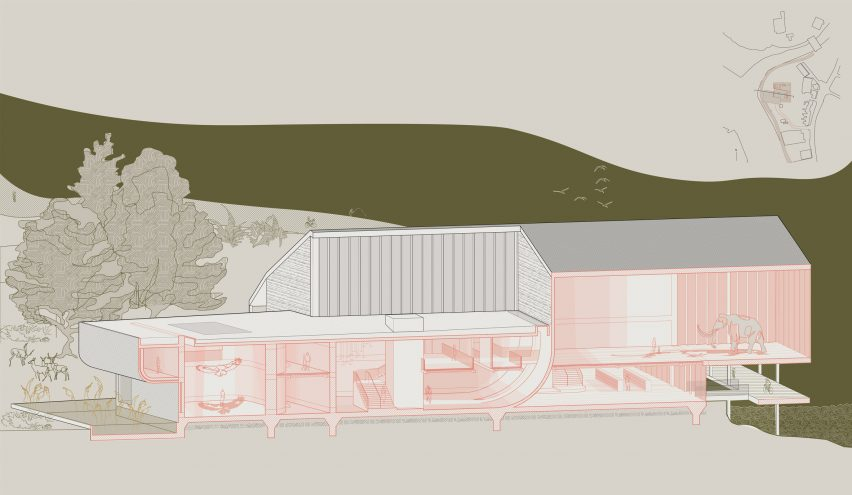 Norwich University of the Arts architecture student work