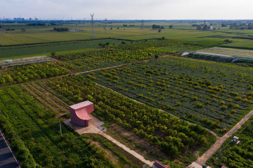 A rural community centre in Xiuwu