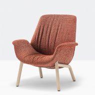 Ila armchair by Patrick Jouin for Pedrali