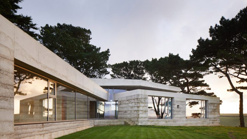 Concrete house by Peter Zumthor
