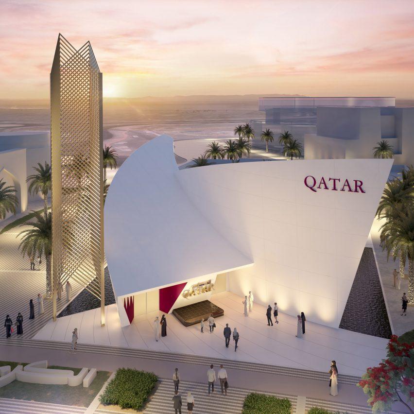Qatar Pavilion at Dubai Expo