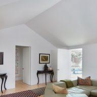 The living room at Salt Point Residence
