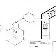Salt Point Residence site plan