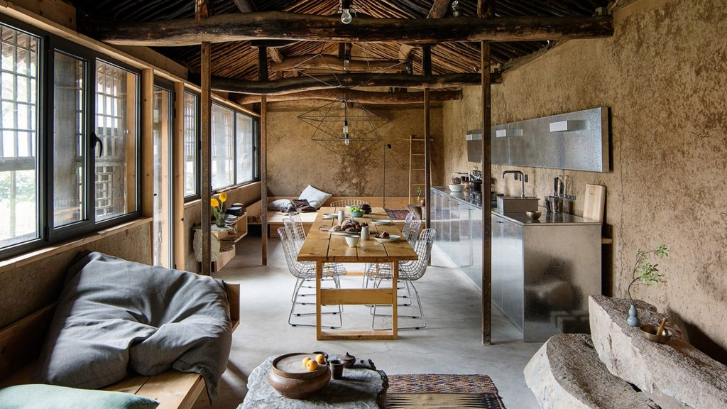Ten rustic interiors that incorporate natural textures and materials - Tech News