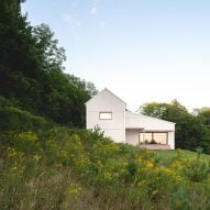L'Abri and Construction Rocket complete Saltbox Passive House in Quebec