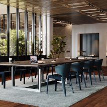 Sarpi Office system by Carlo Scarpa for Cassina