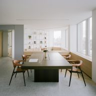 """ConForm Architects creates """"homely"""" office in brutalist Smithson Tower"""