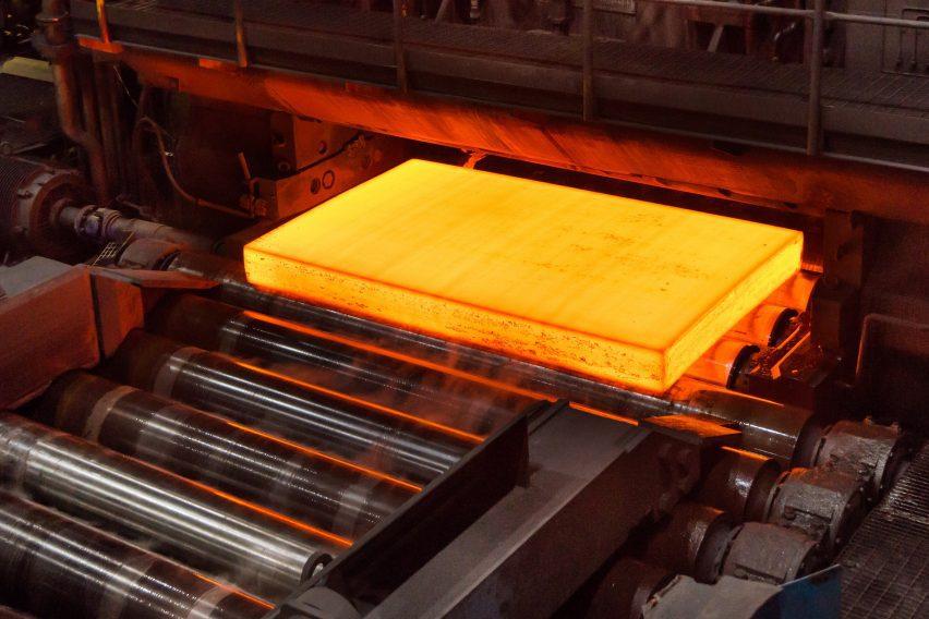 Fossil-free molten steel