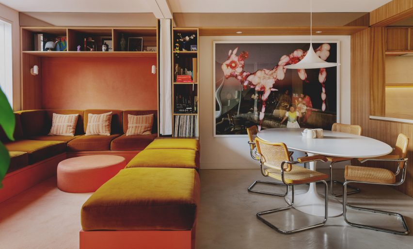 1970s-style makeover of London townhouse