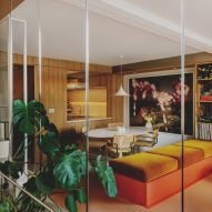 Studio Hagen Hall completes 1970s-style makeover of London townhouse