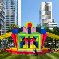 A pavilion by Morag Myerscough