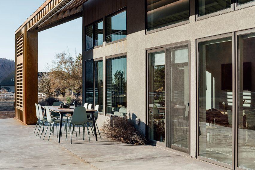 Студия Upwall Architects разработала проект в Юте
