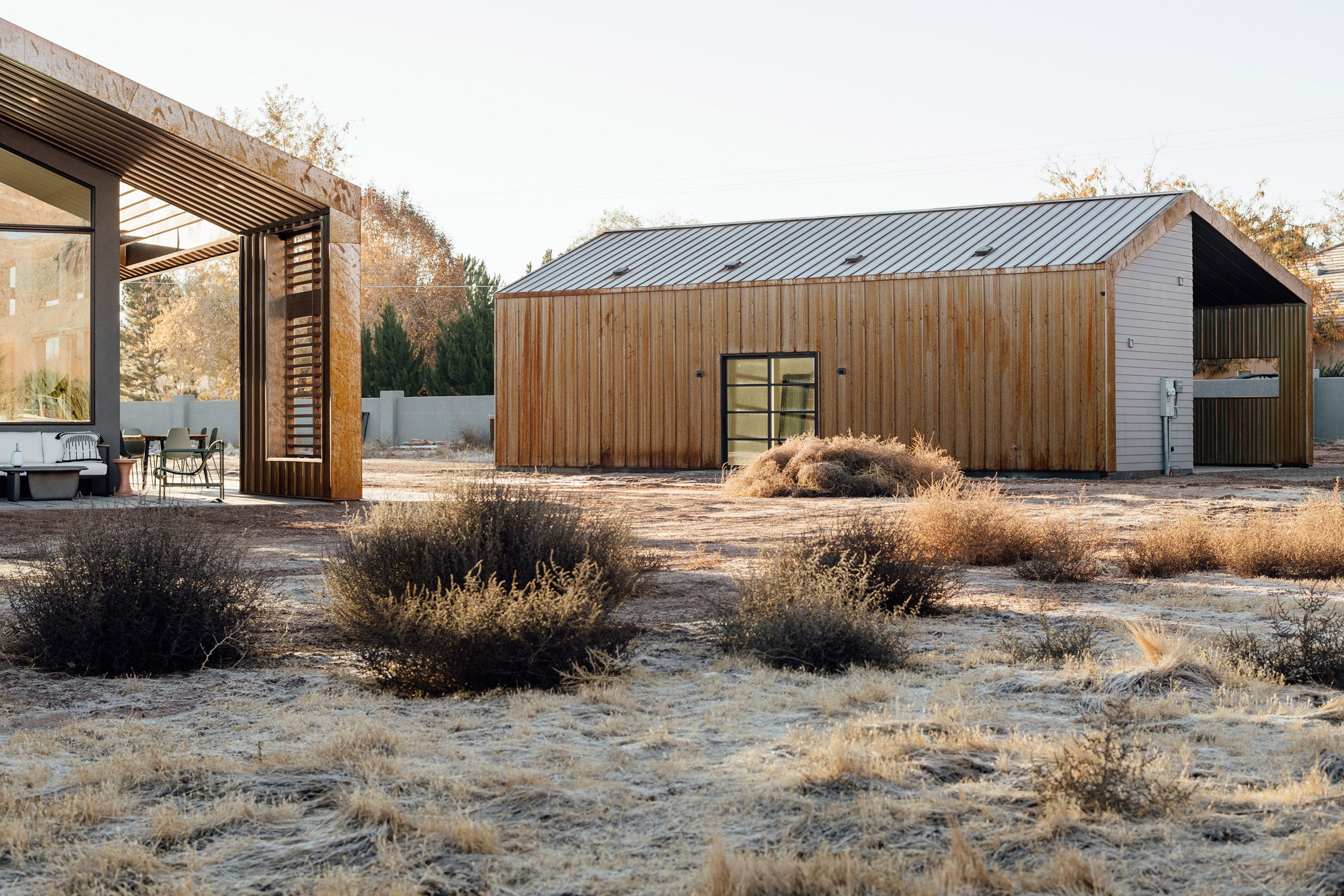 Studio Upwall Architects designed the project