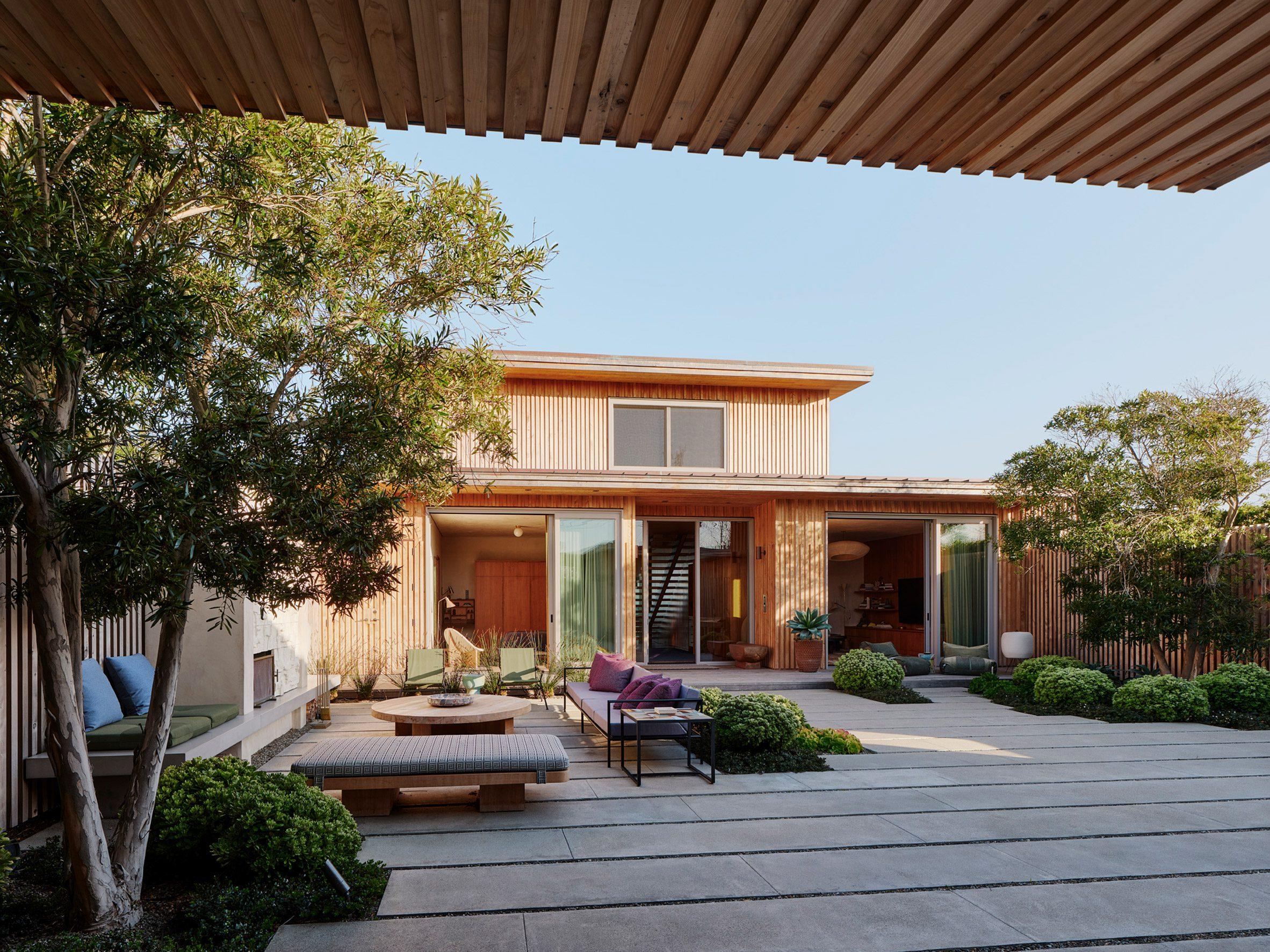 The house is in Santa Cruz