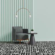 Grid carpet by Talk Carpet