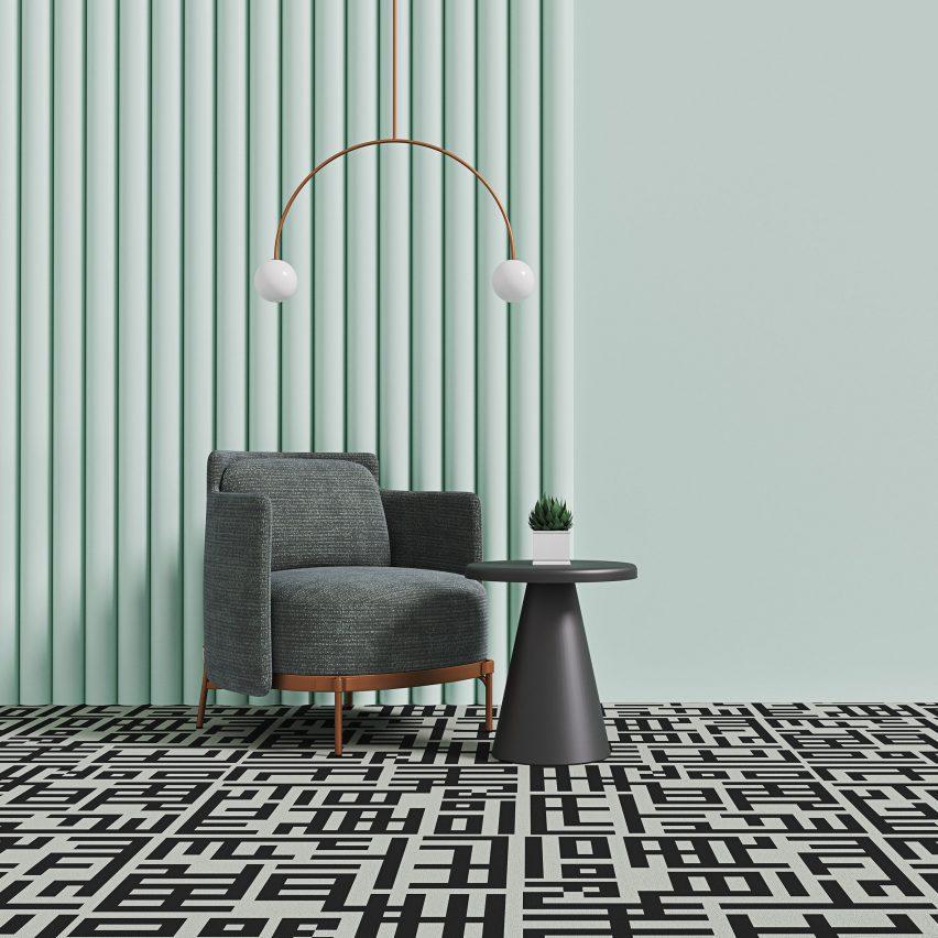 Сетчатый ковер Talk Carpets
