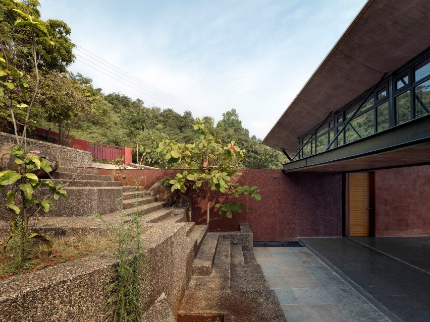 The Cove House in the Western Ghats mountains