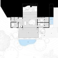 The Cove House by Red Brick Studio floor plan
