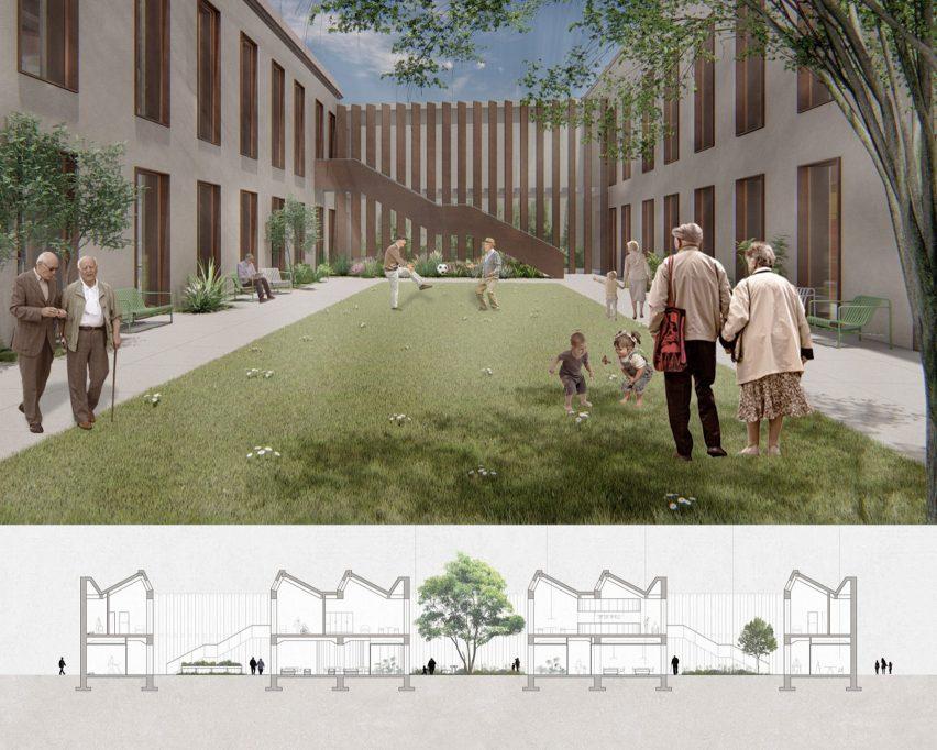 A nursing centre designed by Elisabeth Mayr