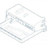 House axonometric diagram