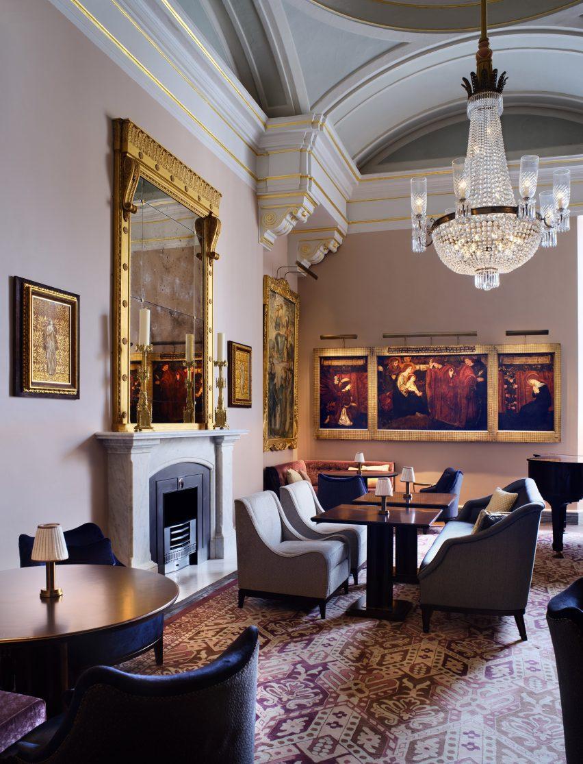 Interior design studio AWI assisted Haworth Tompkins