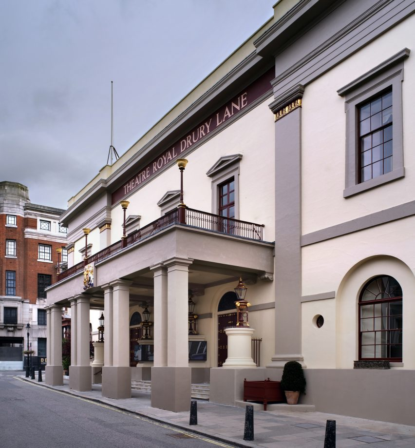 The Grade I-listed theatre was constructed in 1812