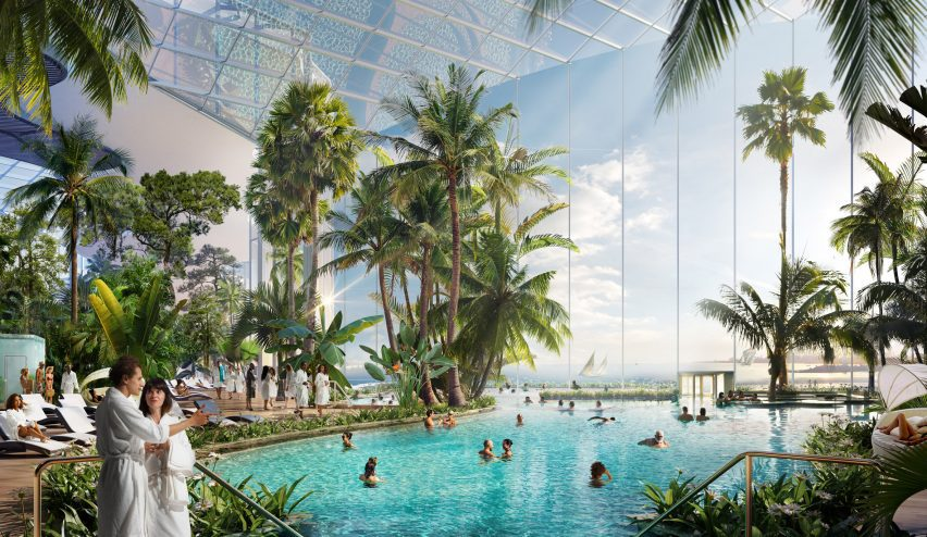 Toronto's Ontario Place is being turned into a water and wellness destination