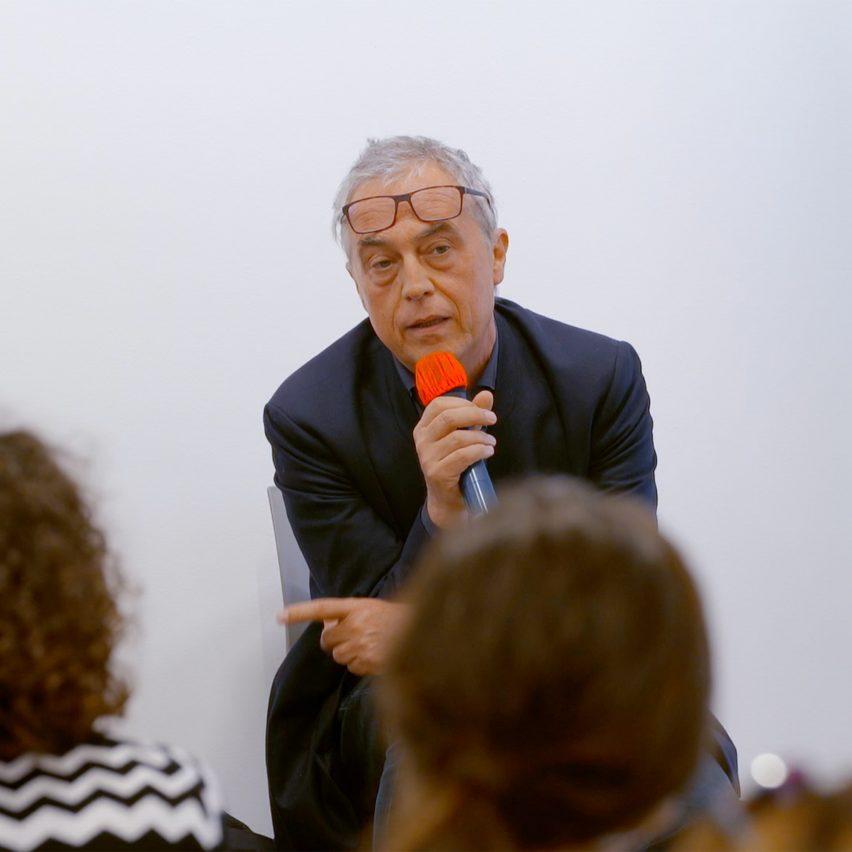 Stefano Boeri at Therme Art talk in Venice
