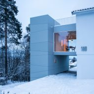 Tower-like house extension in Oslo